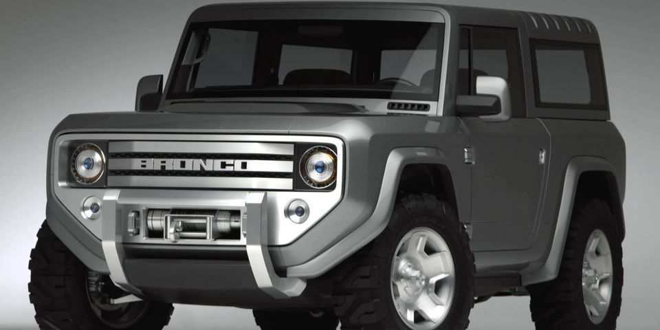 17 A 2020 Ford Bronco Speed Test