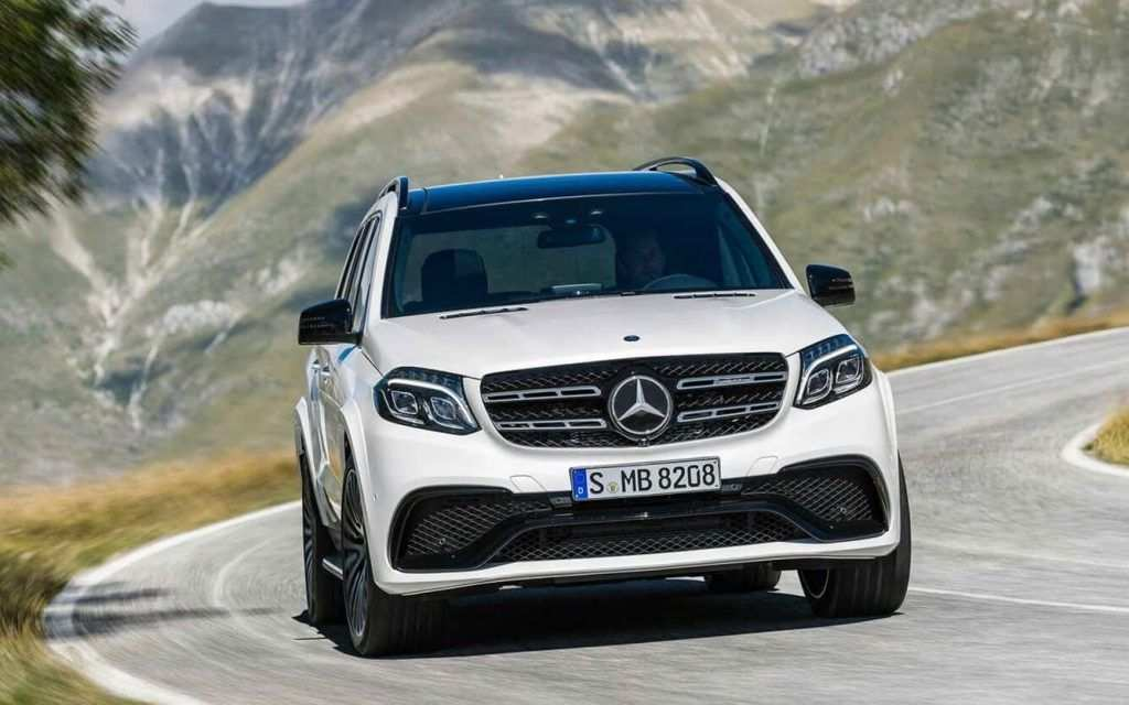17 A 2020 Mercedes GLS Wallpaper