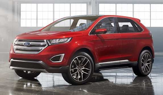 17 A Ford Edge New Design New Model And Performance