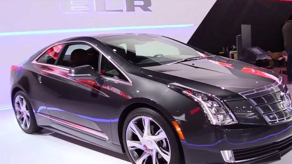 17 All New 2019 Cadillac ELR Interior