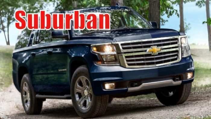 17 All New 2020 Chevy Suburban Z71 History