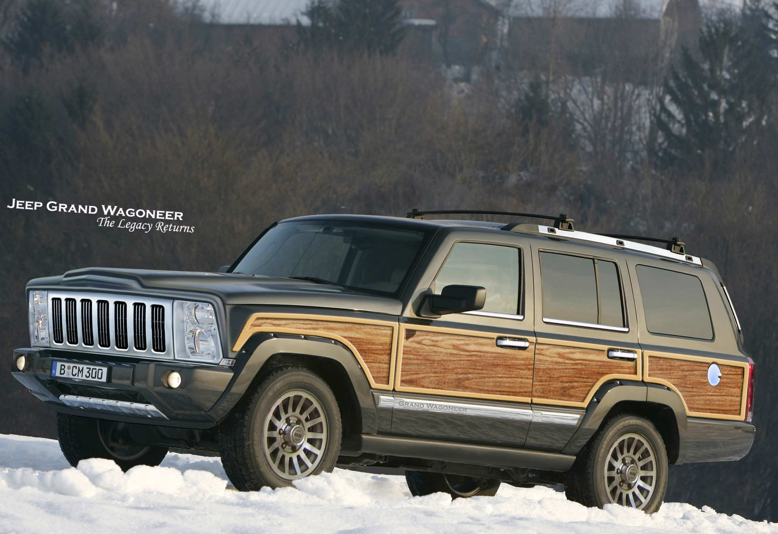 17 All New 2020 Jeep Wagoneer Research New