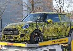 2020 Spy Shots Mini Countryman