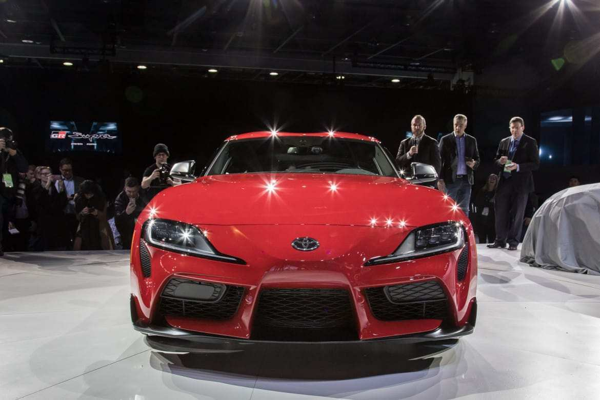 17 All New Price Of 2020 Toyota Supra Spy Shoot