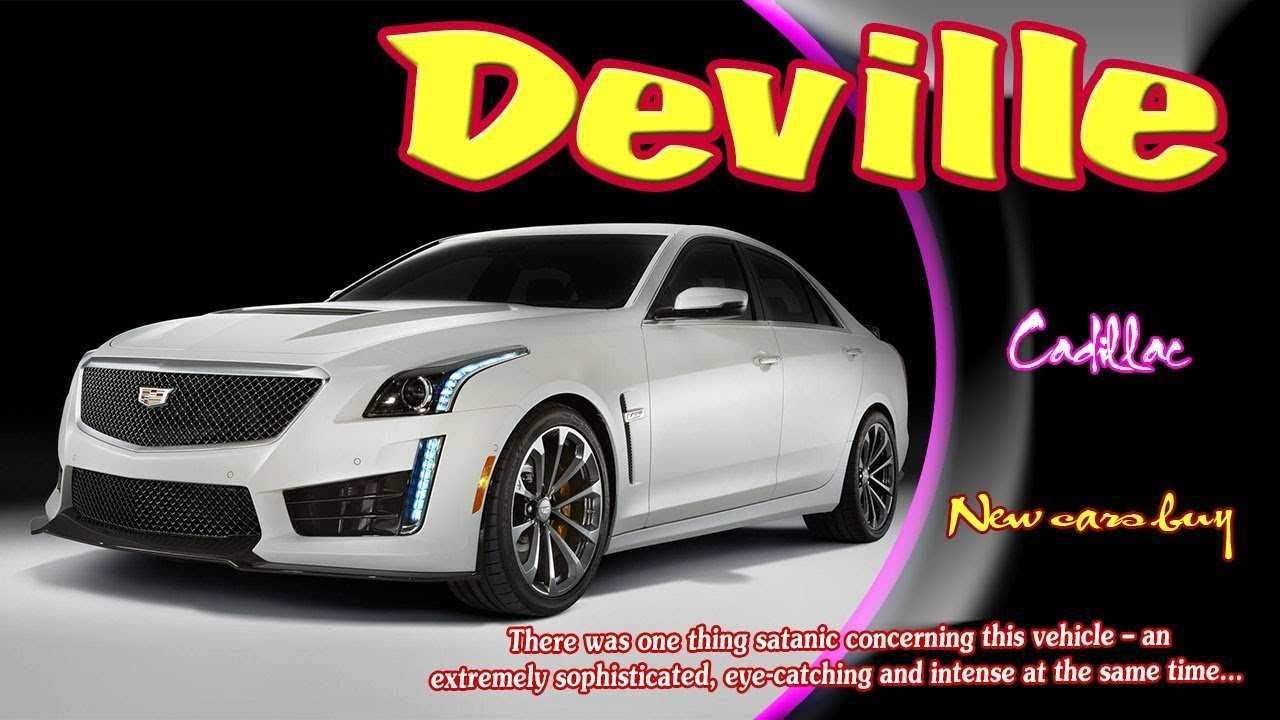 17 New 2019 Cadillac Deville Coupe New Review