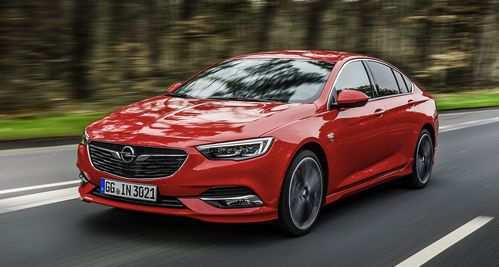 17 New 2020 Opel Insignia Spy Shoot