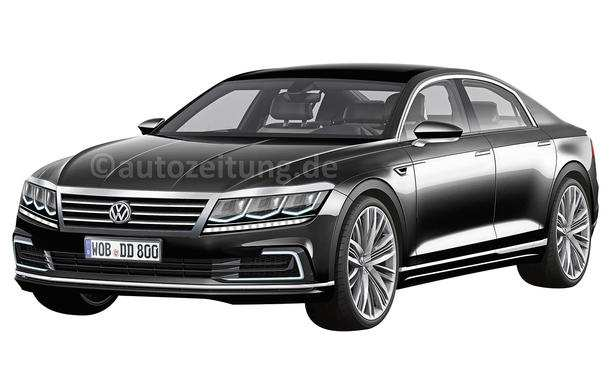 17 New 2020 VW Phaeton Concept