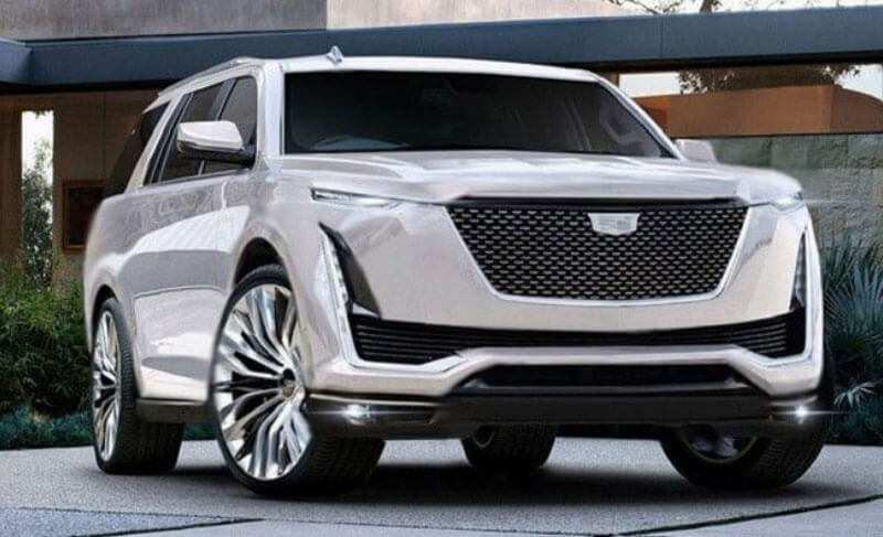 17 New Cadillac Suv 2020 Spy Shoot