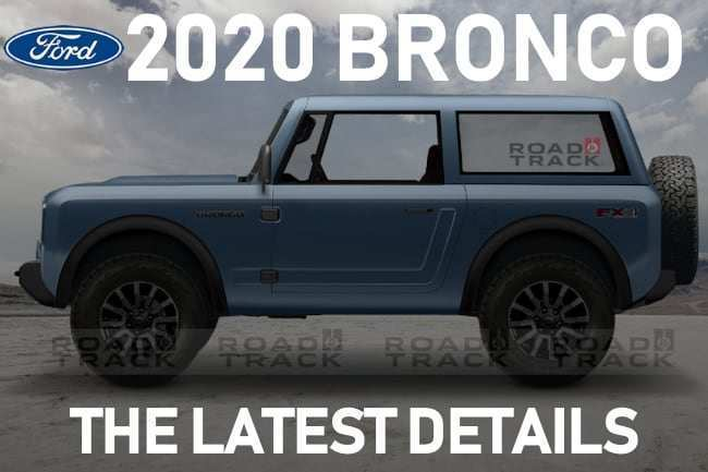 17 New Ford Bronco 2020 Release Date Price