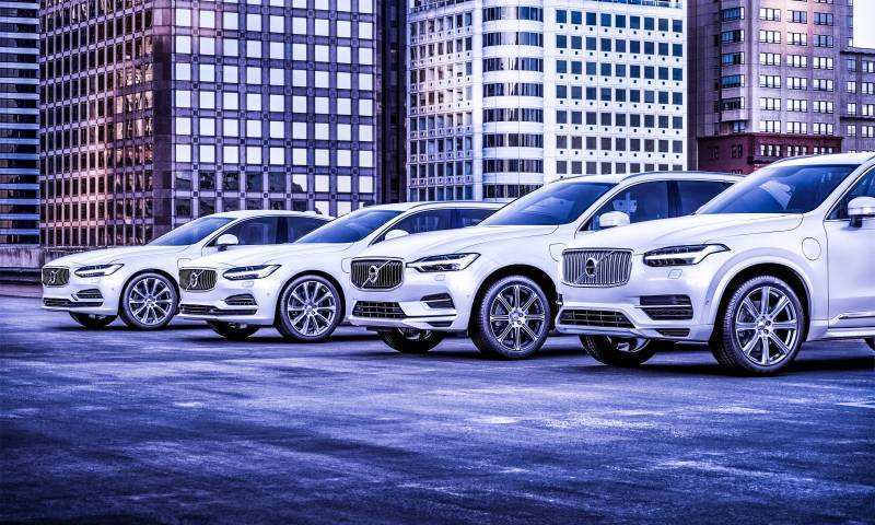 17 New Volvo All Electric Cars By 2019 Release Date