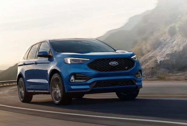 17 The 2020 Ford Edge New Design Performance And New Engine