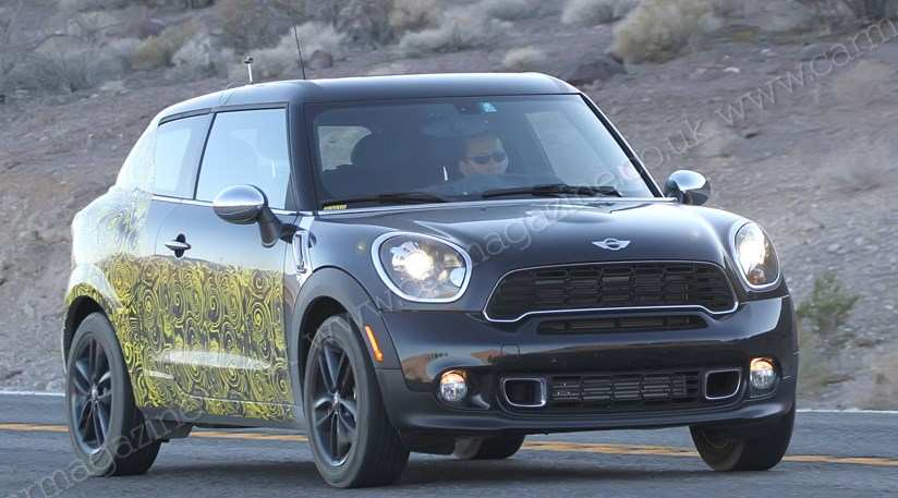 17 The Best Spy Shots Mini Countryman Picture
