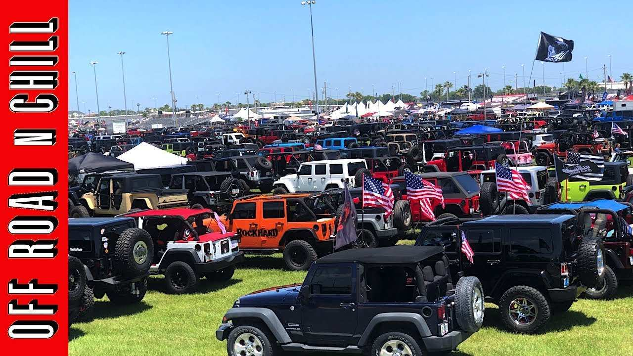 17 The Jeep Beach Daytona 2020 History