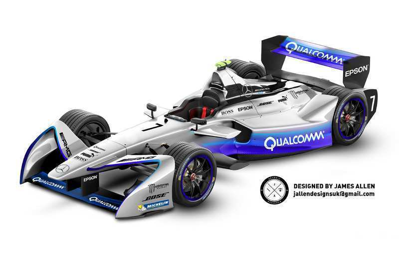 17 The Mercedes Formula E 2019 New Concept