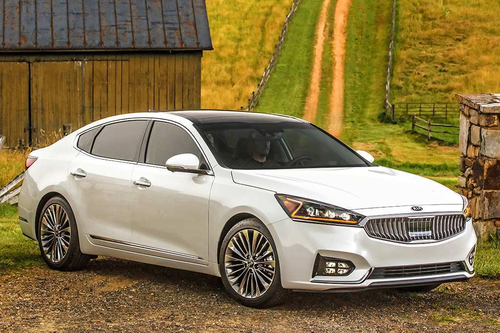 18 A 2019 All Kia Cadenza Spy Shoot
