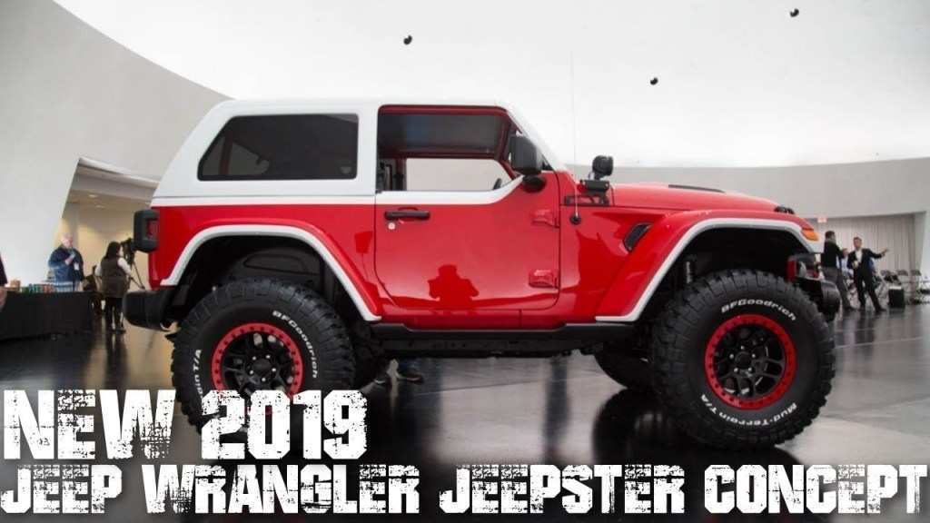 18 A 2019 Jeep Jeepster Concept