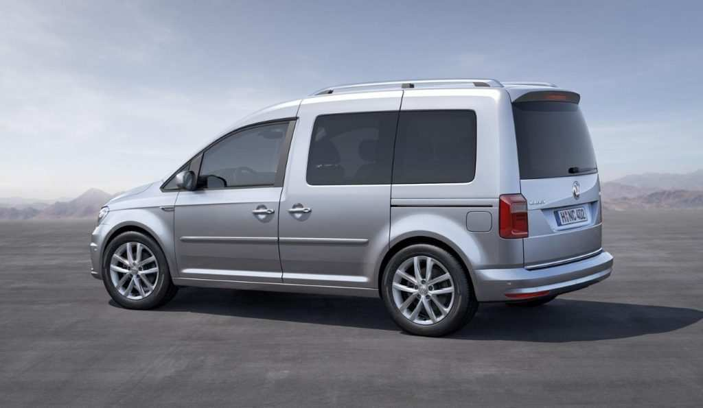 18 A 2019 VW Caddy Photos