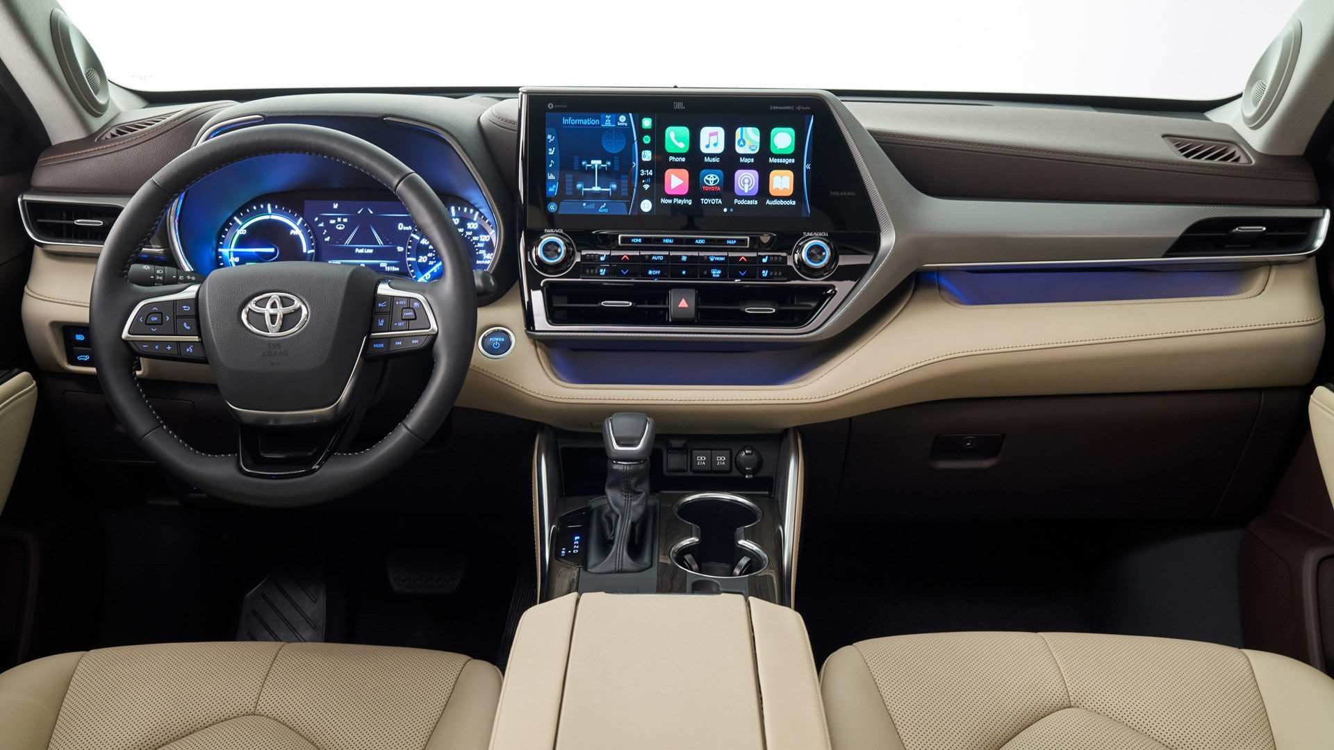 18 A Toyota Kluger 2020 Interior Pictures