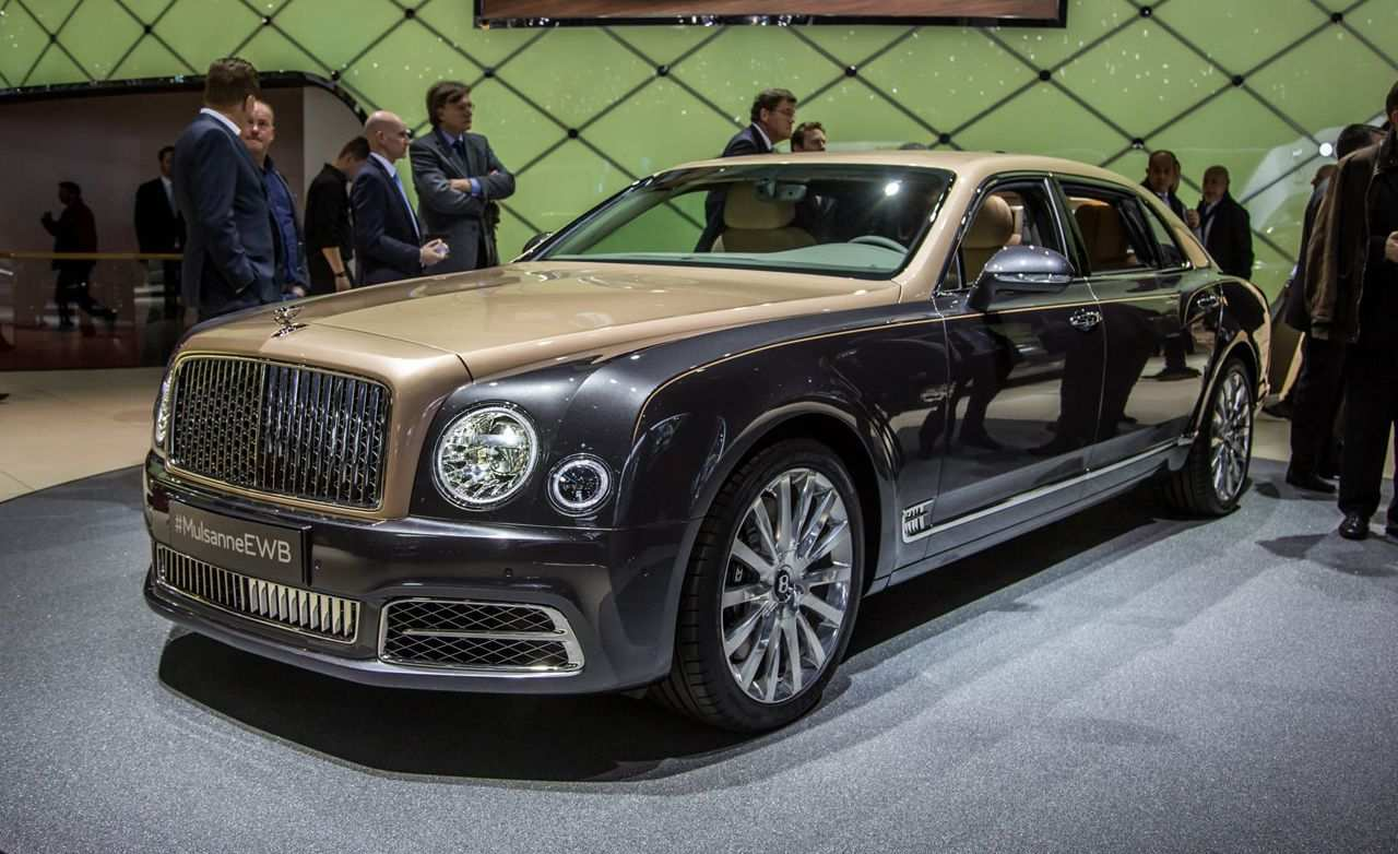 18 All New 2019 Bentley Muslane First Drive