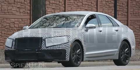 18 All New 2019 Spy Shots Lincoln Mkz Sedan First Drive