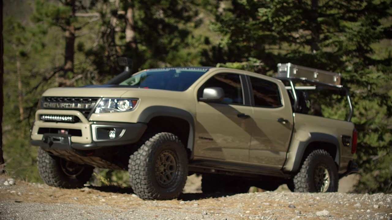 18 All New 2020 Chevrolet Colorado Z72 Model