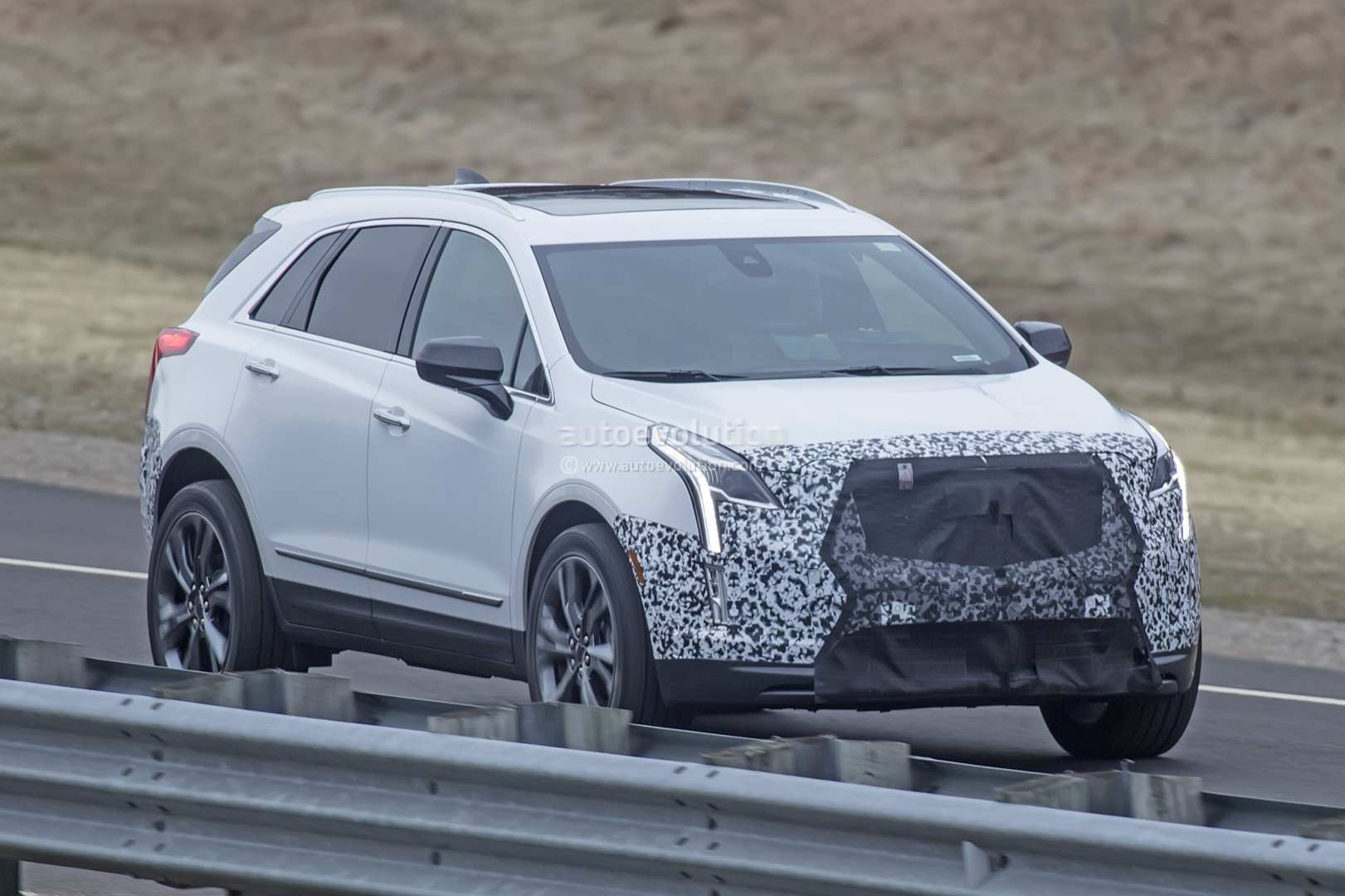 18 All New Spy Shots Cadillac Xt5 Engine