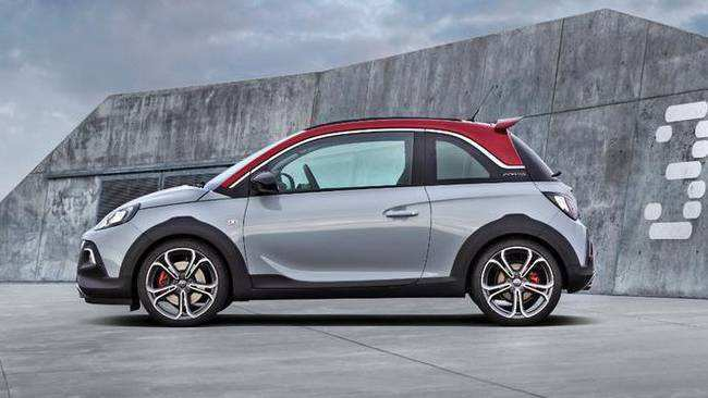 18 New 2019 Opel Adam Rocks Performance And New Engine