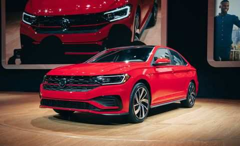 18 New 2019 Vw Jetta Gli Model