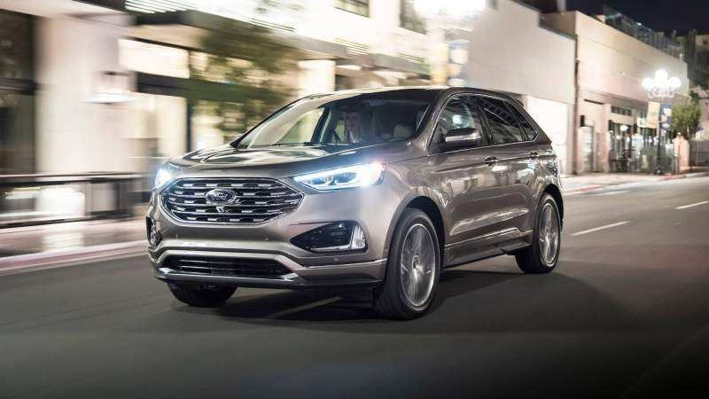 18 New 2020 Ford Edge New Design Exterior