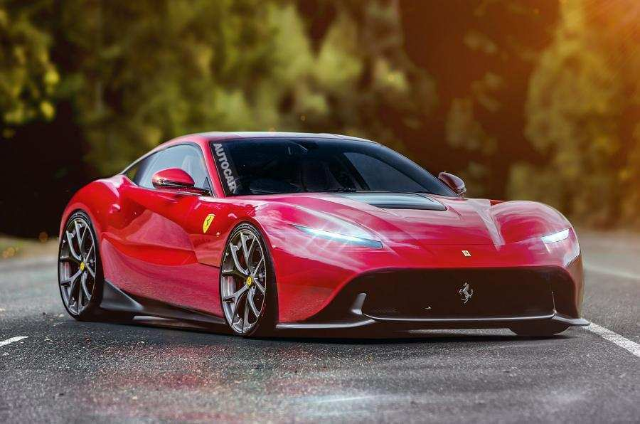 18 New New Ferrari 2020 Spy Shoot