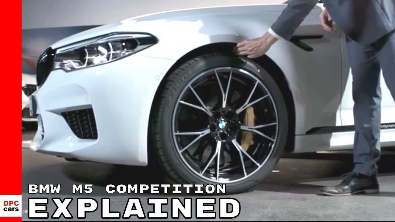 18 The 2019 BMW M5 Get New Engine System Speed Test