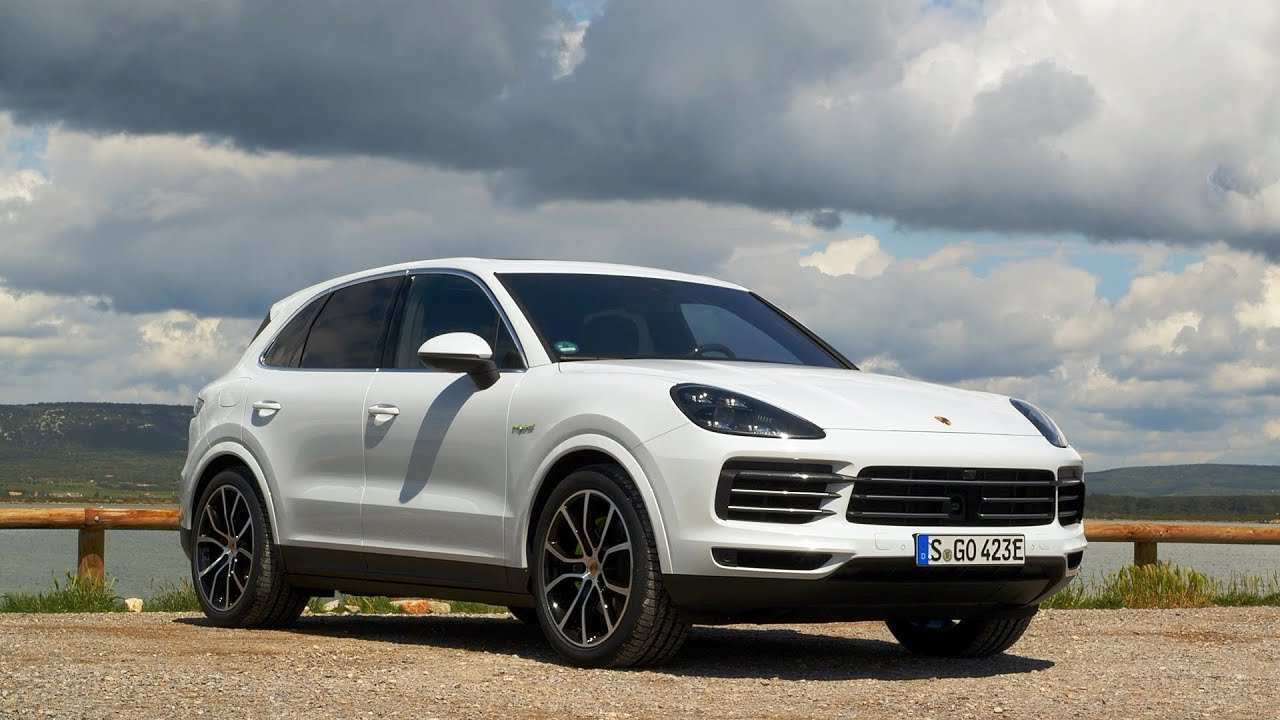 18 The 2019 Porsche Cayenne Speed Test