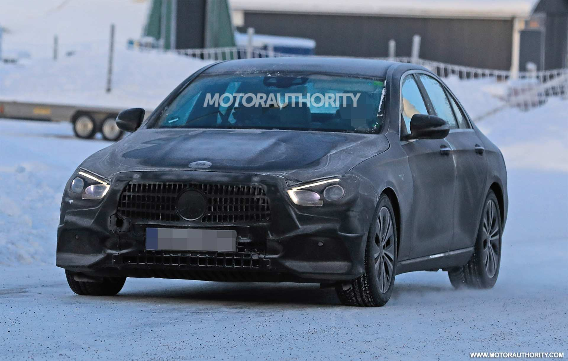 18 The 2019 The Spy Shots Mercedes E Class Redesign And Review