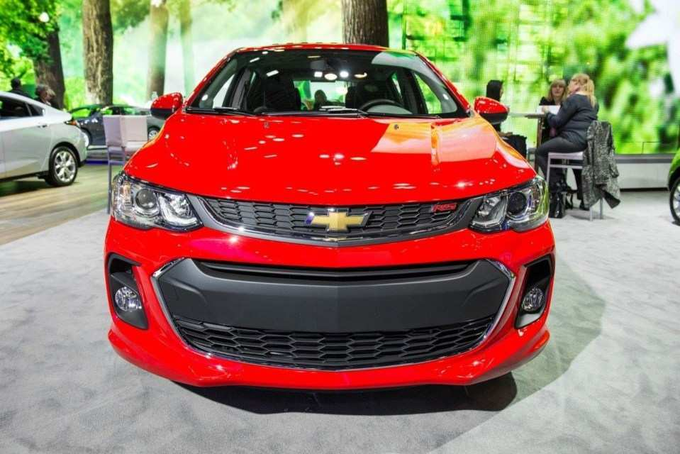 18 The 2020 Chevy Sonic Model