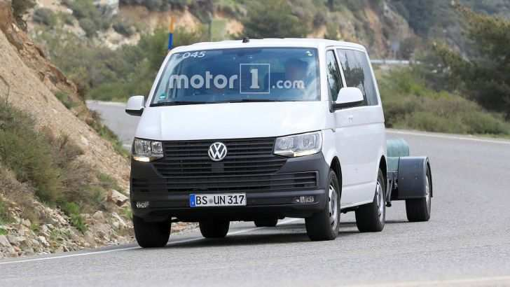 18 The 2020 VW Transporter Exterior and Interior