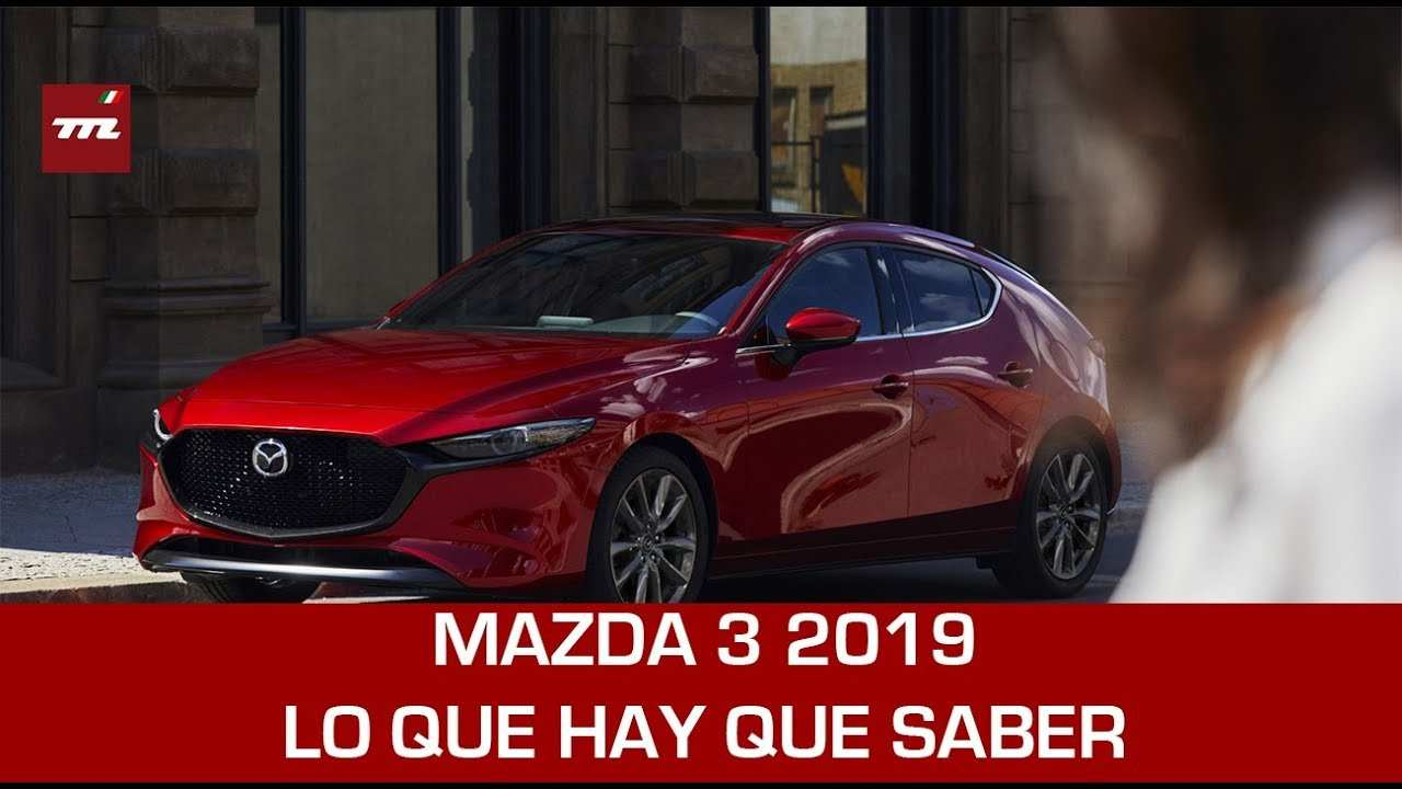 18 The Mazda 3 2019 Lanzamiento Spy Shoot