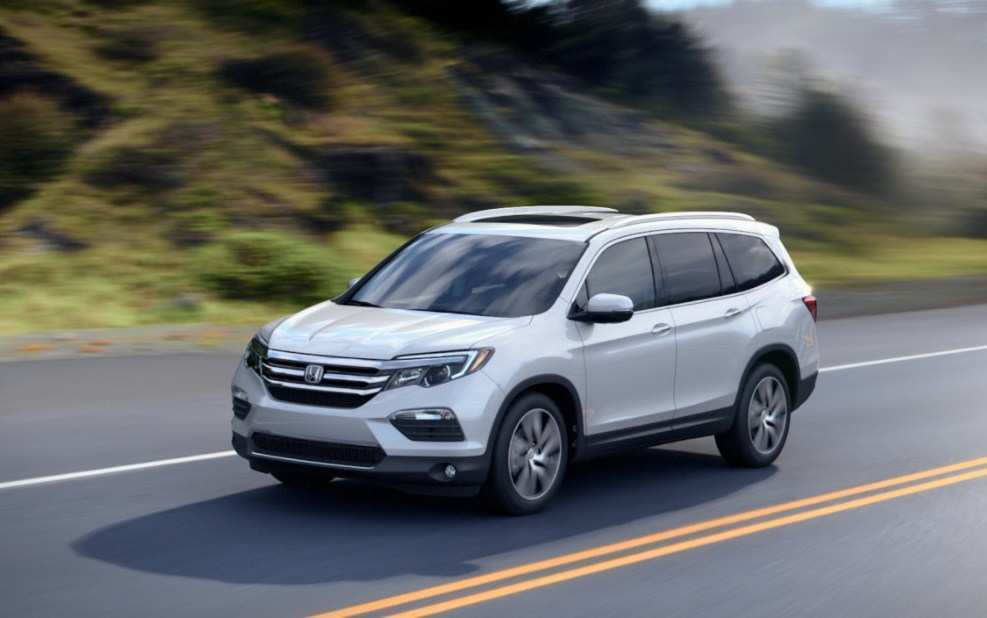 19 All New 2019 Honda Pilot Spy Photos Ratings