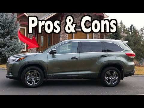 19 All New 2019 Toyota Highlander Redesign And Concept