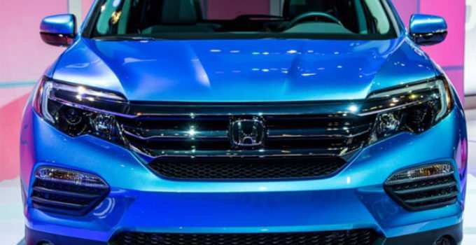 19 All New 2020 Honda Pilot Images