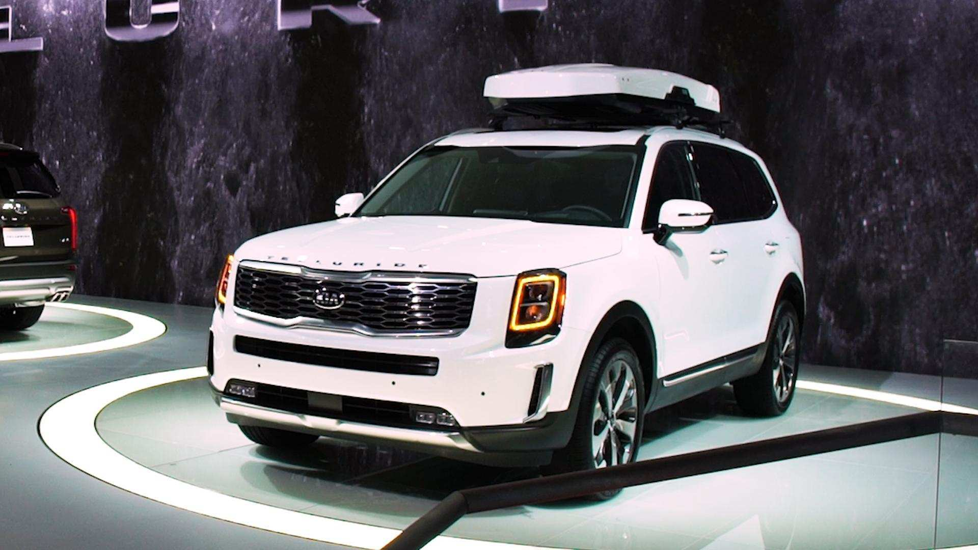 19 All New 2020 Kia Telluride White Specs