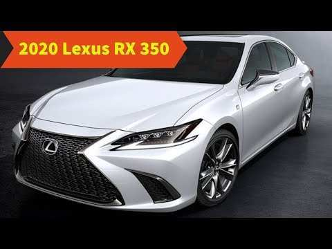19 All New 2020 Lexus Rx 350 F Sport Suv Model