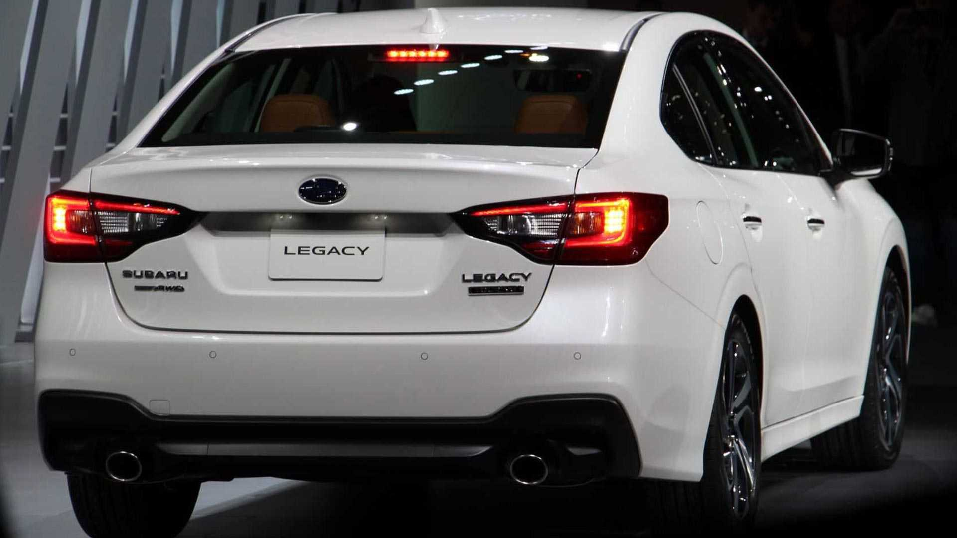 19 All New 2020 Subaru Legacy Engine Exterior And Interior