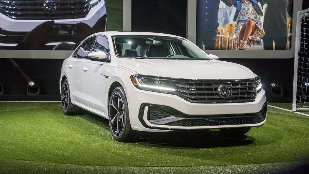 19 All New 2020 Vw Passat Exterior
