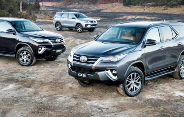 19 All New Toyota Fortuner Facelift 2020 India Style
