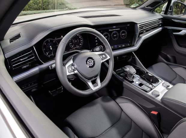 19 All New Vw Touareg 2019 Interior Picture