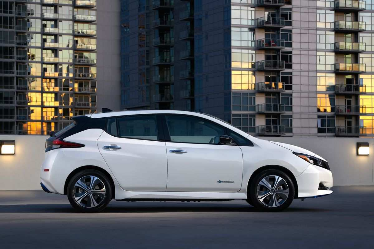 19 New 2019 Nissan Leaf Spy Shoot