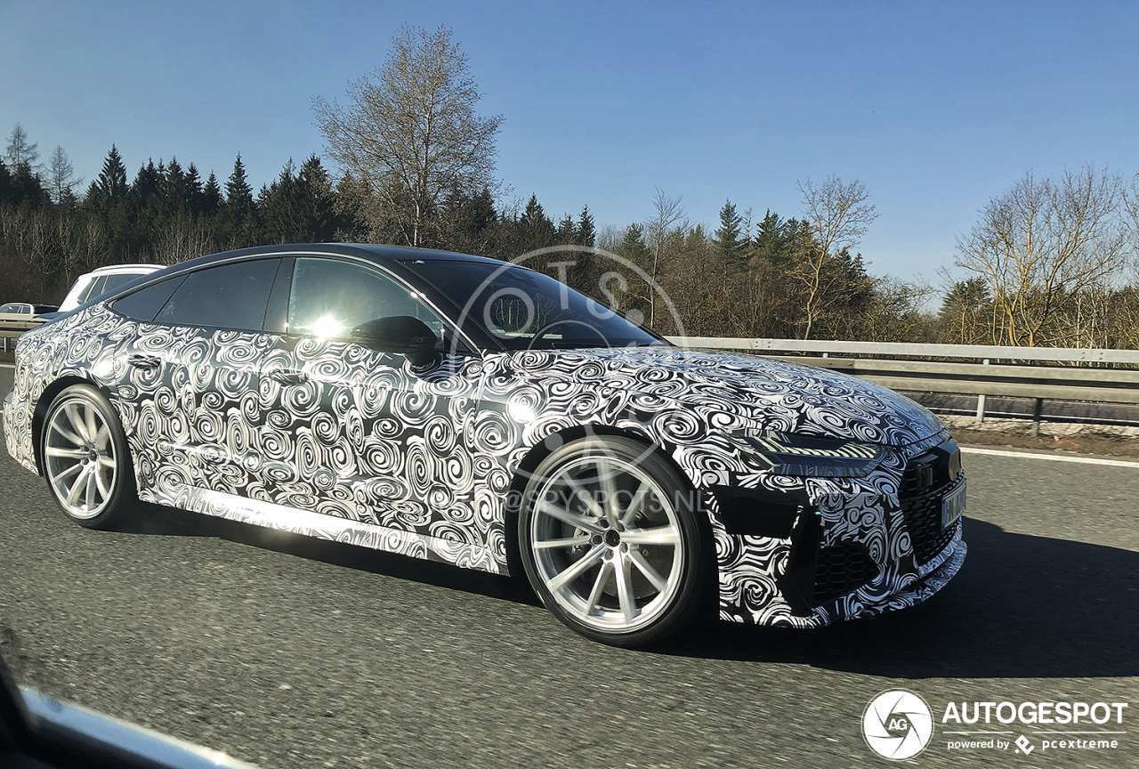 19 New 2020 Audi Rs7 First Drive