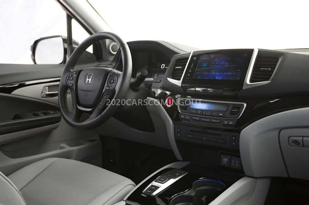 19 New 2020 Honda Pilot Spy Photos New Model And Performance