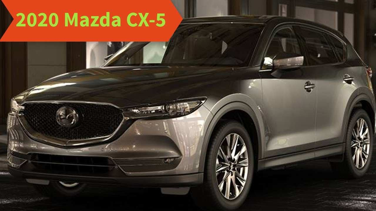 19 New 2020 Mazda CX 5 Spy Shoot