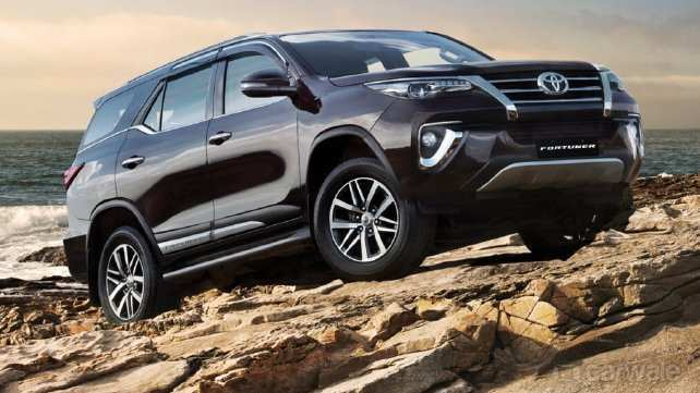 19 New Fortuner Toyota 2019 Redesign